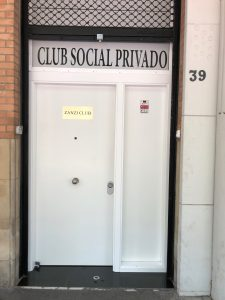 Türe in Barcelona